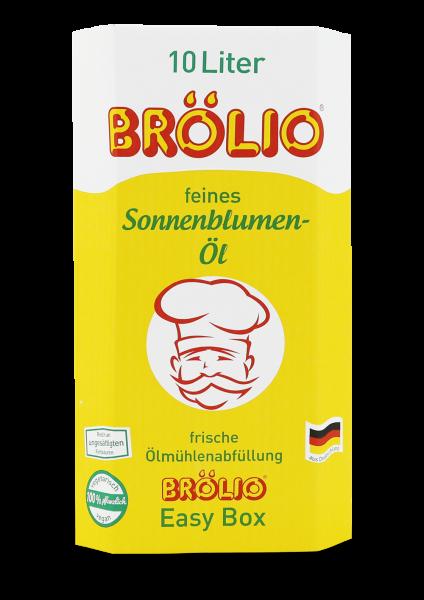 Brölio - Sonnenblumenöl, 10 Liter Bag-in-Box