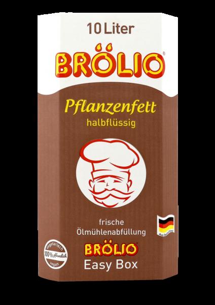 Brölio - Pflanzenfett halbflüssig, 10 Liter Bag-in-Box