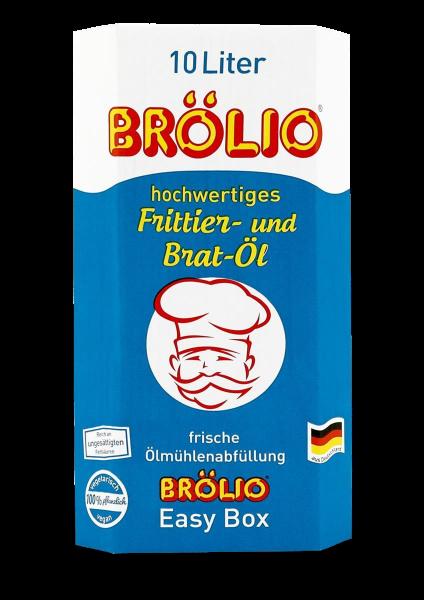 Brölio - Frittier- und Bratöl, 10 Liter Bag-in-Box